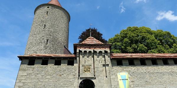 Schloss Romont.