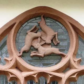 Drei-Hasen-Fenster in Paderborn