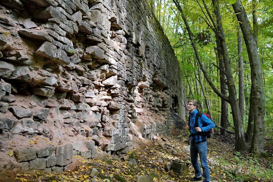 Historischer Grubenweg Nordfeld