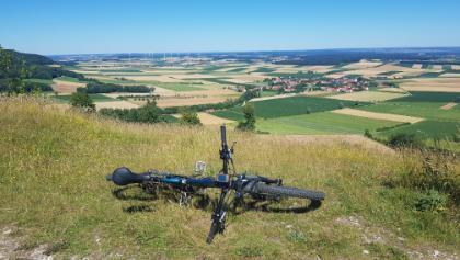 Aussicht vom Gelben Berg (1)
