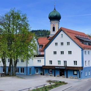 Hotel Lamm Immenstadt mit neuer Fassade