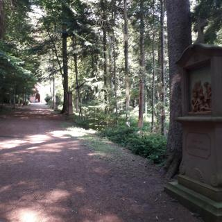 Kreuzweg am Heilbrunnen