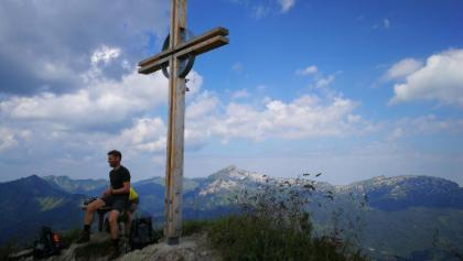 Kuhgehrenspitze Gipfelkreuz
