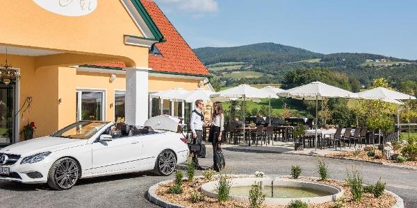 Hotel Restaurant Grüne Au, Aussenansicht