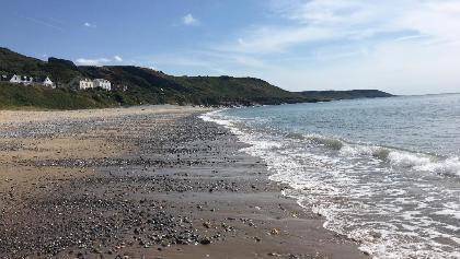 Port Eynon beach.