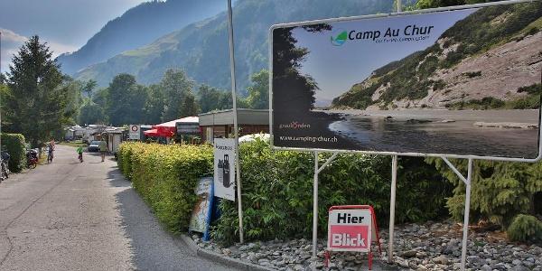Willkommen auf dem Camp Au Chur