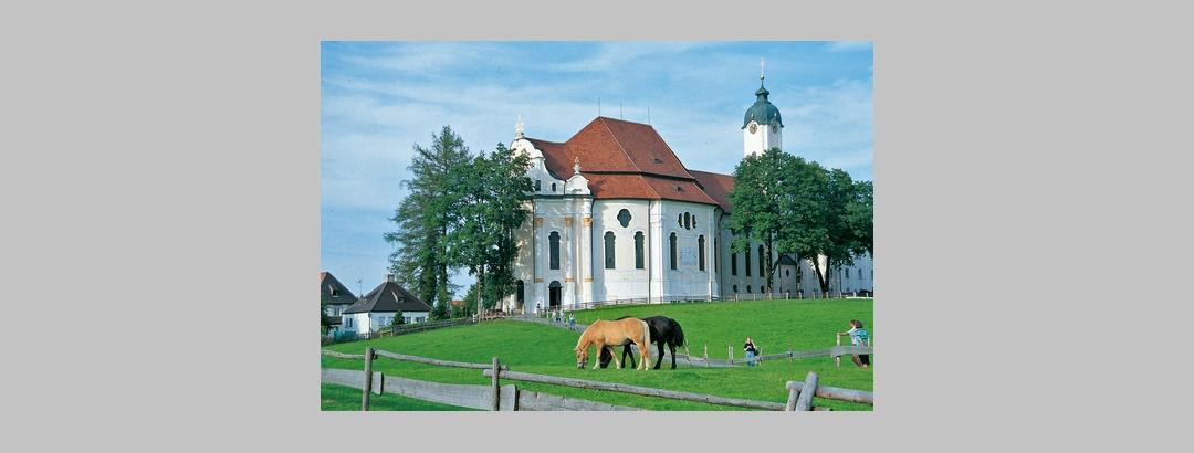 Fernwanderweg Meditationsweg Ammergauer Alpen - Wieskirche