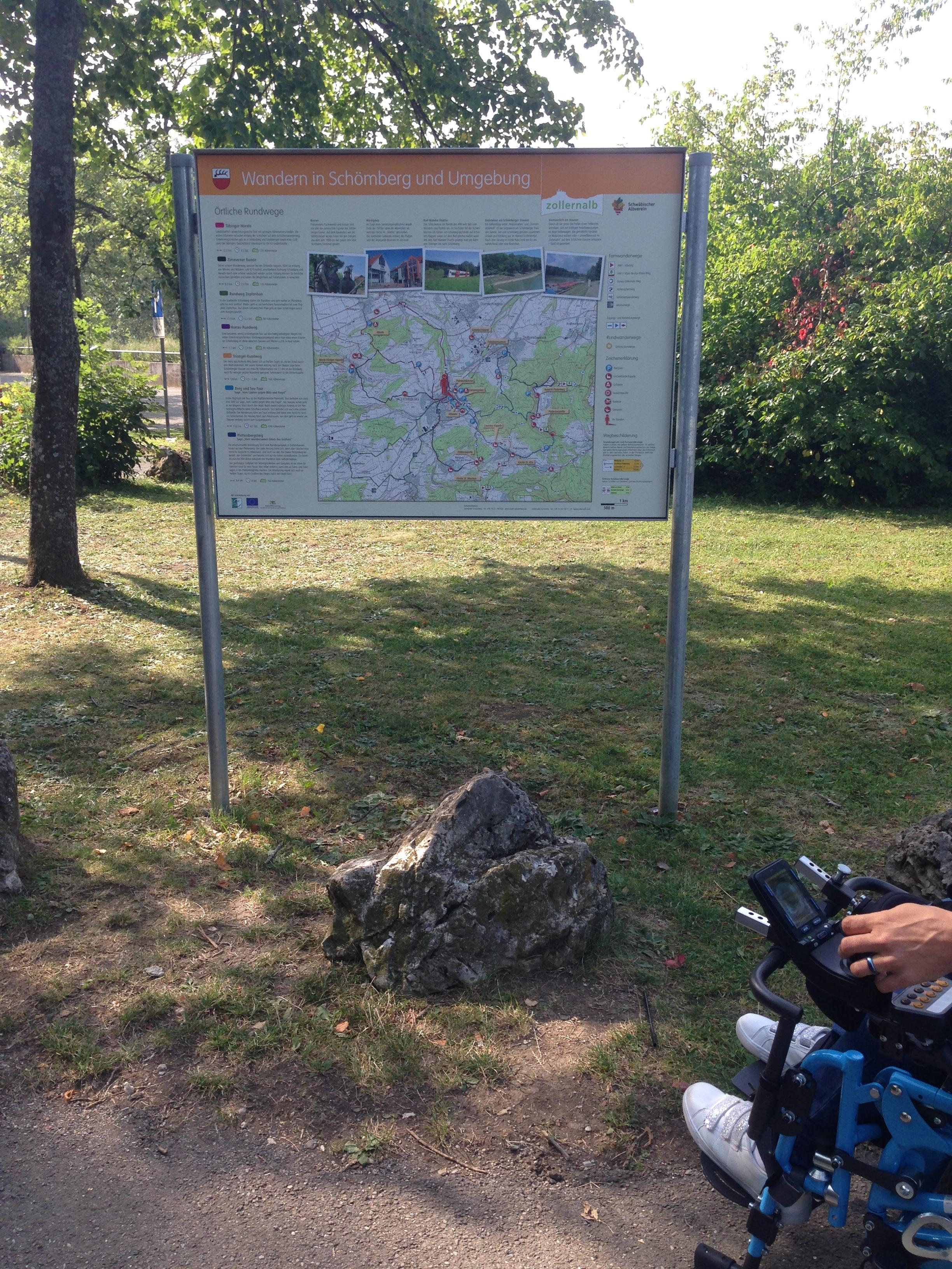 Startpunkt der Tour