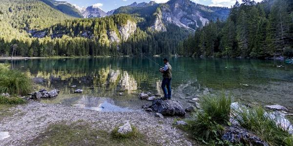 @Roberto Bragotto Photographer - Trentino Fishing - Lago Tovel