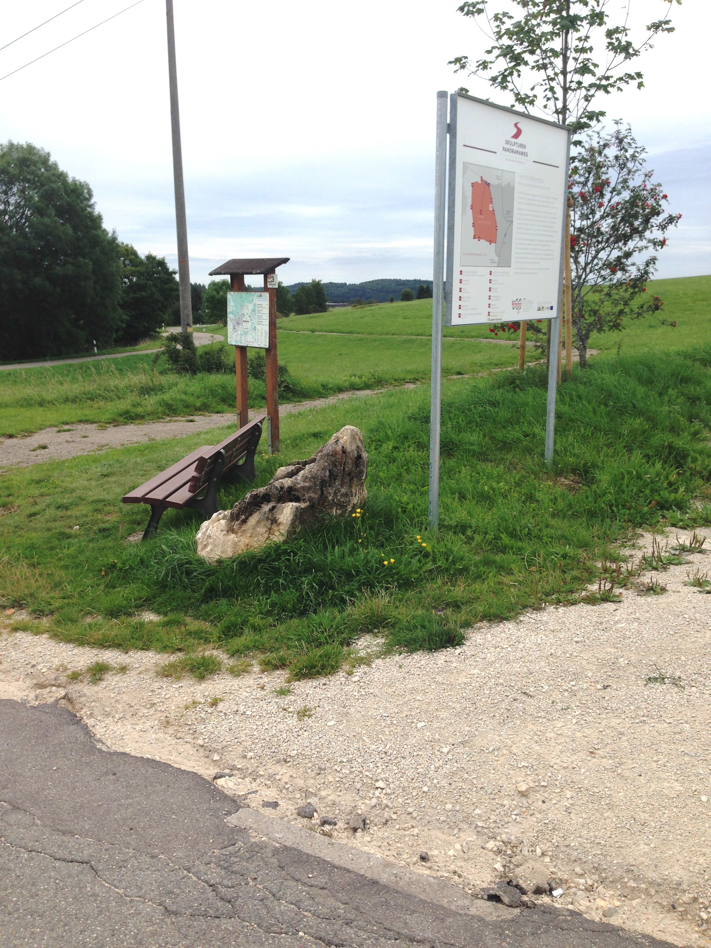 Bodenbeschaffenheit Übergang Parkplatz-Rundtour