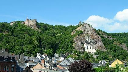 Felsenkirche Idar-Oberstein und Schloss Oberstein
