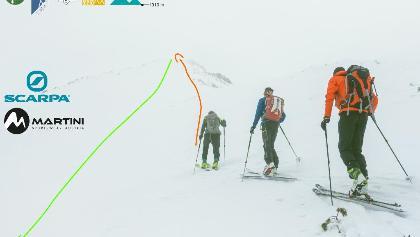 Topo Skitour auf den Zolta Turnia (Skialp)