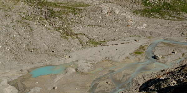 Gletschervorfeld bei Umpol.