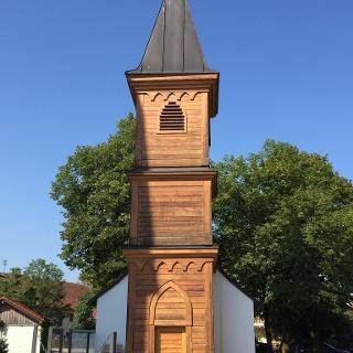 St. Anna Kapelle aus dem 19. Jh in Oedenstockach