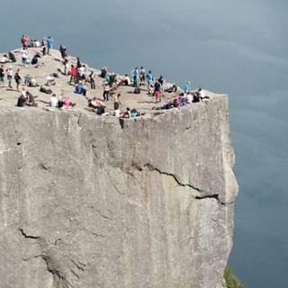 Preikestolen - Die Kanzel über dem Lysefjord
