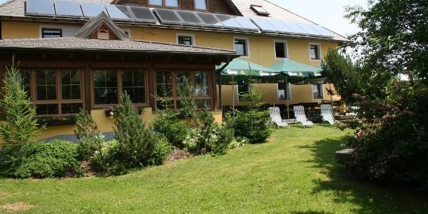 """Süd-Ansicht Gasthaus """"ZUM KRAMER"""""""