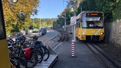 Stuttgart - die Zacke