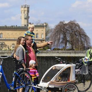 Familien-Radtour vom Schloss Montfort ins Eriskircher Ried