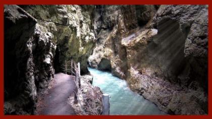 Partnachklamm Garmisch-Partenkirchen - Eines der schönsten Naturdenkmäler Bayerns