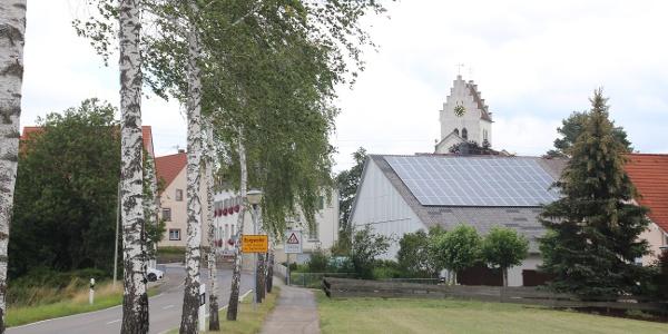..noch durch Burgweiler