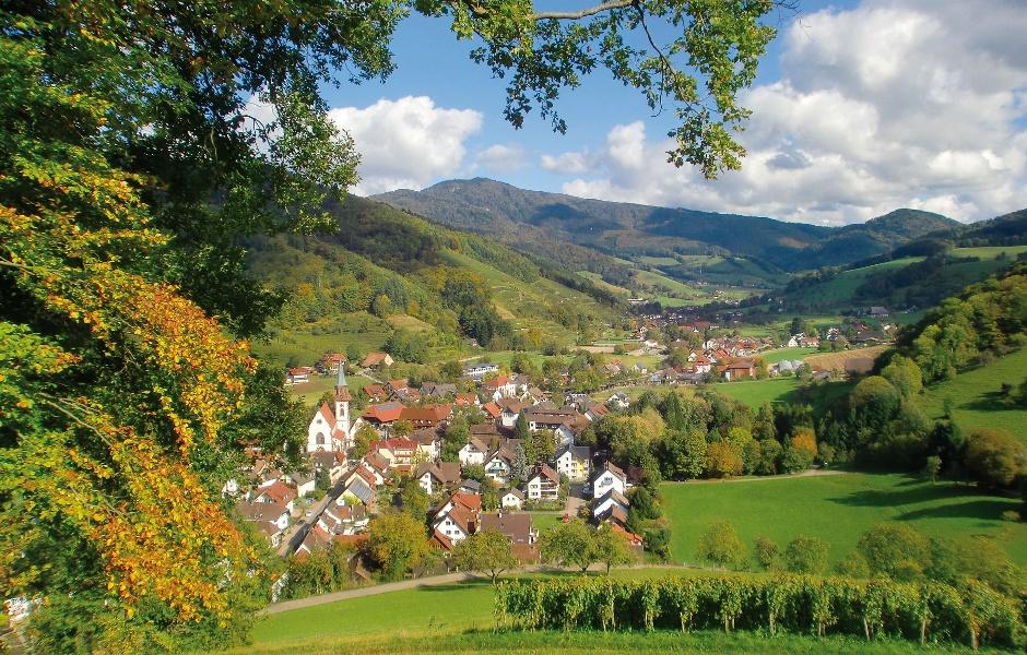 Die Schwarzwald Panoramastraße, Variante mit Start in Glottertal