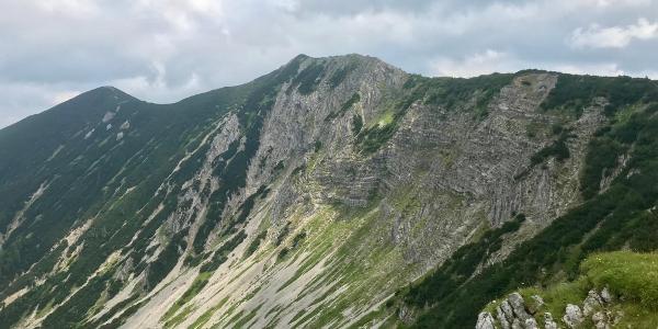 Gratweg zum Felderkopf