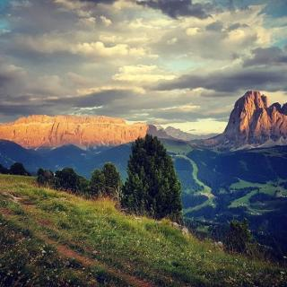 Burning Dolomites....