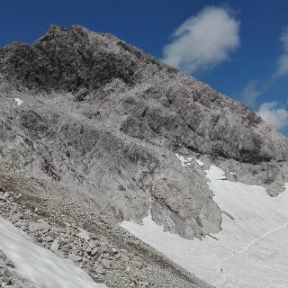 Mädelesgabel (2644m) mit Schwarzmilzferner
