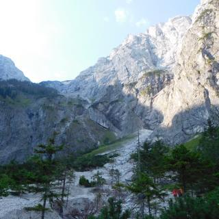 Aufstieg zum Röllsattel