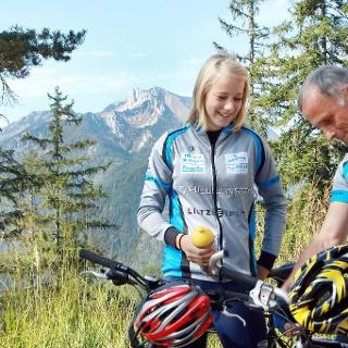 Mit dem Mountainbike zur Kitzhütte