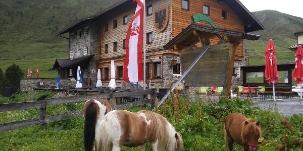 Dortmunder Hütte - Sommer