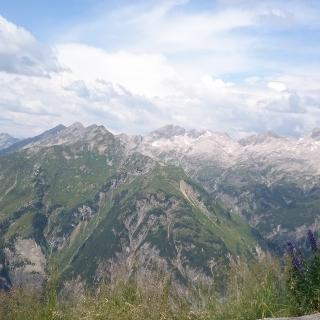 Blick vom Gipfel Jöchelspitze