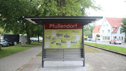 Bahnsteig in Pfullendorf