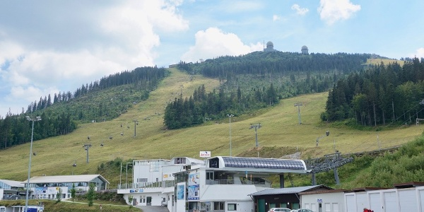 Großer Arber mit Bergbahn