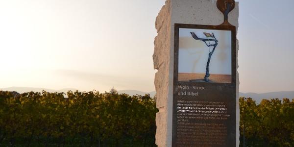 Biblischer Weinpfad in Kirrweiler