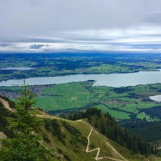Forggensee and Bannwaldsee