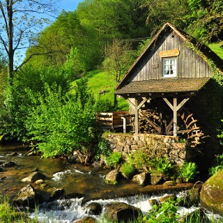 Rainbauernmühle in Ottenhöfen-Furschenbach