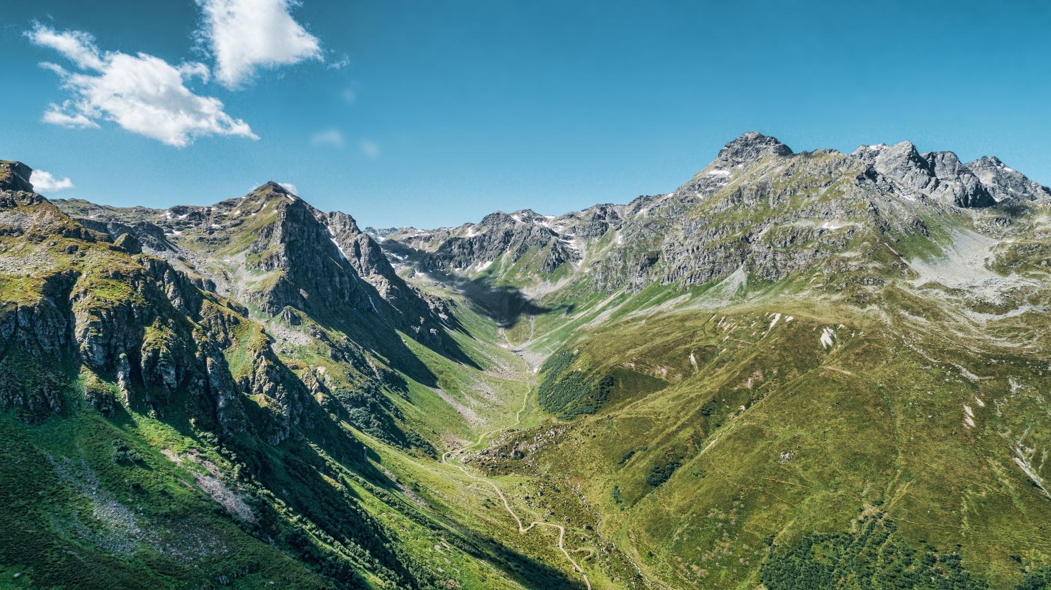 Klettersteig Madrisella : Klettersteig madrisella Österreichs wanderdörfer