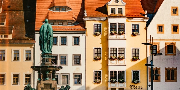 Historische Altstadt Freibergs
