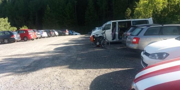 Kostenloser Parkplatz Malbunstrasse P 1