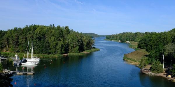 View from Sattmark Bridge