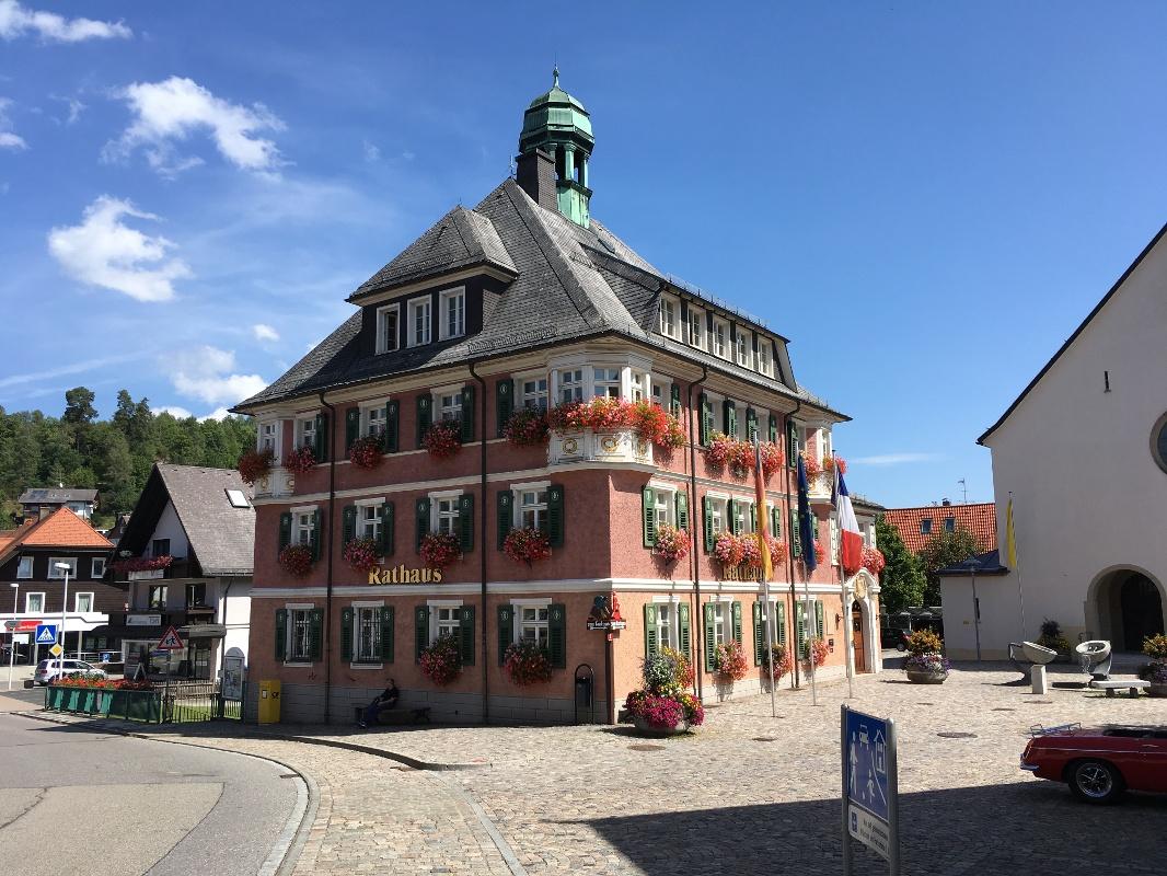 Mittelweg westliche Variante Etappe 8: Lenzkirch - Häusern ...
