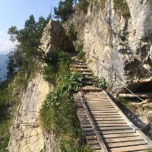 Unterwegs zum Gipfel