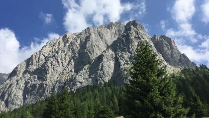 Das Ziel Monte Peralba
