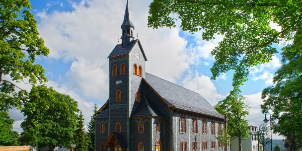 Holzkirche Neuhaus am Rennweg