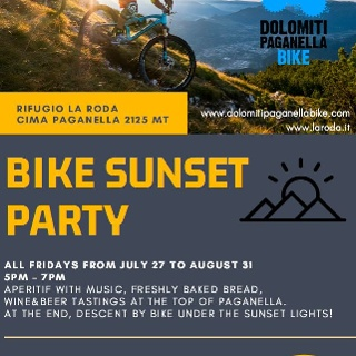 Bike Sunset Party