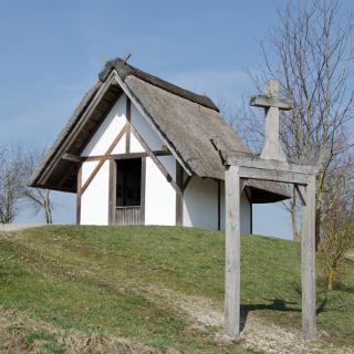Frühchristliche Kapelle in Westheim - Siedlungsort der ersten Franken