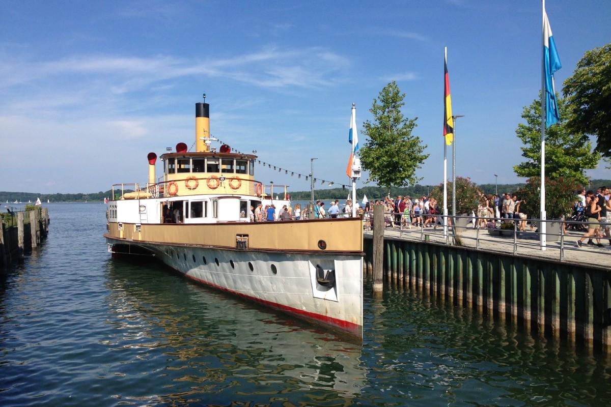 Überfahrt mit der Chiemseeschifffahrt