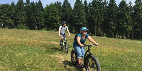 Funsport in der Rennsteig Bikearena Steinach