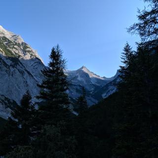 Gipfel der Birkkarspitze